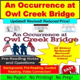 """An Occurrance at Owl Creek Bridge"" Background, Questions, More!"
