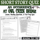 An Occurrence at Owl Creek Bridge Short Story: Common Core