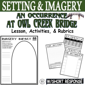 An Occurrence at Owl Creek Bridge Setting Graphic Organizer w/ Short Response