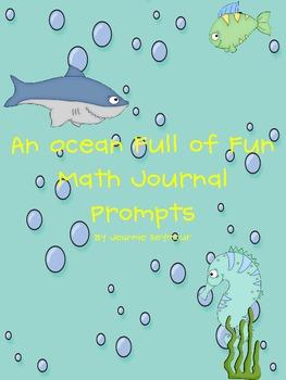 An Ocean Full of Fun Math Journal Prompts
