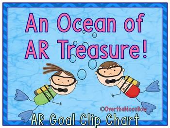 An Ocean of AR Treasure ~ Reading Goal Clip Chart