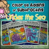 An Ocean of Addition and Subtraction – COLOR BY CODE