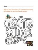 """An """"Odd"""" Halloween Maze"""