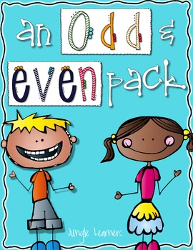 Odd and Even Pack: Printables, Centers & Games