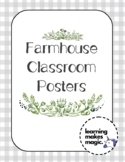 An Old Fashioned Classroom - Alphabet & Number Posters
