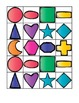 An Old Lady Color and Shape Sort Activities