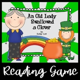 An Old Lady Swallowed a Clover - A Reading Comprehension Game