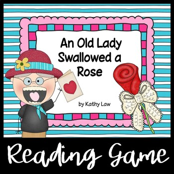 An Old Lady Swallowed a Rose - A Reading Comprehension Game