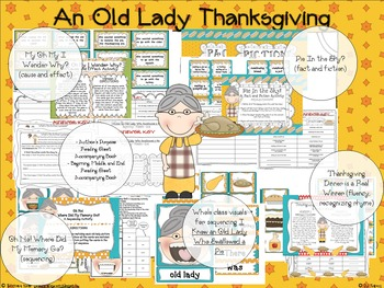 An Old Lady Thanksgiving (I Know An Old Lady Who Swallowed a Pie)