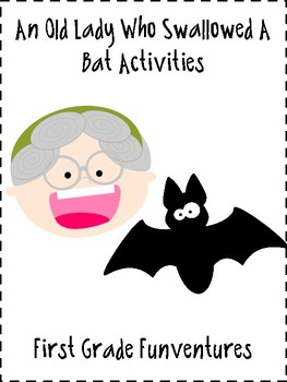 There Was An Old Lady Who Swallowed A Bat Reading And Writing Activities