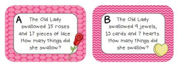 An Old Lady Who Swallowed A Rose-Supplemental Literacy and Math Activities