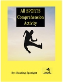 ALL SPORTS Reading Comprehension Activity