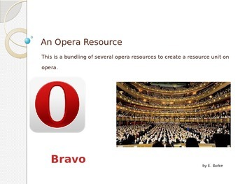 An Opera Resource