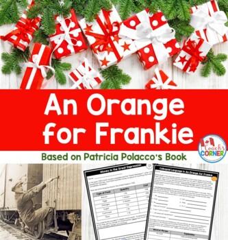 An Orange for Frankie Christmas Literature Unit