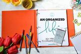 An Organized Life - 60+ Printables To Organize Your Life