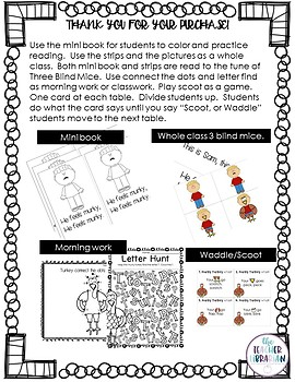 An Original Turkey Tale for Thanksgiving! Writing, Reading, and Craft