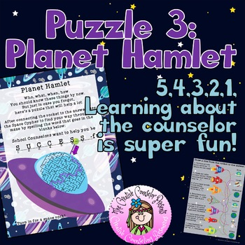 An Out of this World Meet the Counselor Escape Room Guidance Orientation