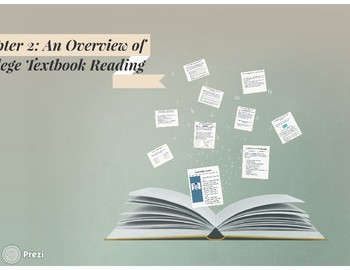 An Overview of College Textbook Reading