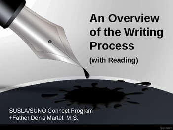 An Overview of the Writing Process