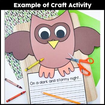 An Owl Craftivity