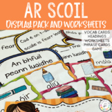 Ar Scoil - Irish Display Pack and Worksheets
