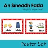 An Síneadh Fada Poster Set (why the fada is important!)