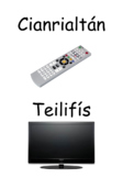 An Teilifiís/ Gaeilge / posters