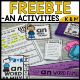 Word Family Practice (an)