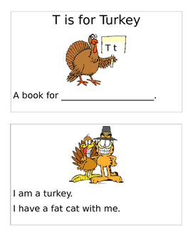 An easy to read Thanksgiving book