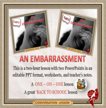 An embarrassment - ESL adult and kid conversation classes