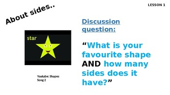 An interactive powerpoint on Shapes
