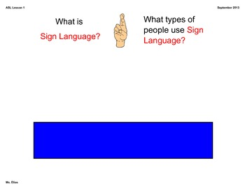 An introduction to ASL