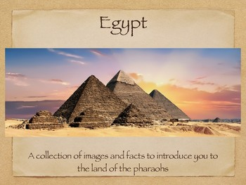 An introduction to Egypt