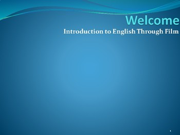 An introduction to English through Film