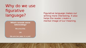 An introduction to Figurative language.
