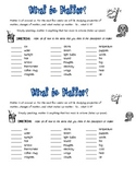 An introduction to matter  What is Matter?