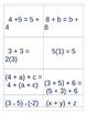 An intuitive approach to teaching algebraic properties