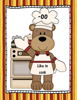 An -oo Sound Word Sort: Cooking Up Some -oo Words