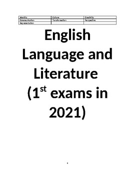 An overview of the two new IB English courses (for examination in 2021)