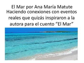 Ana María Matute (making connections) El mar