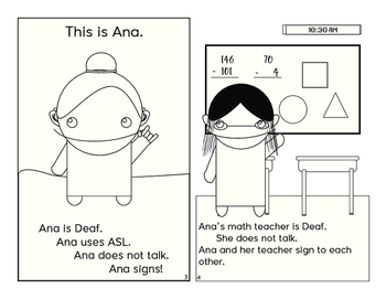 Ana and the Interpreter (How to Use an ASL Interpreter)