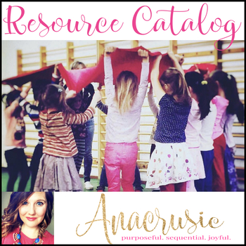 Anacrusic Resource Catalog