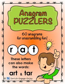 Anagram Puzzlers