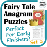 Reading Puzzles Based on Hans Christian Andersen Fairy Tales