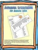 Anagram Worksheets