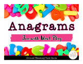 Anagrams: Critical Thinking Task Cards