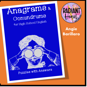 Anagrams and Conundrums for High School English