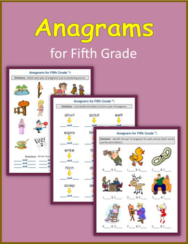 Anagrams for Fifth Grade