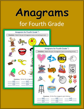 Anagrams for Fourth Grade