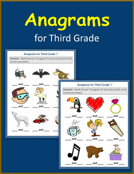 Anagrams for Third Grade